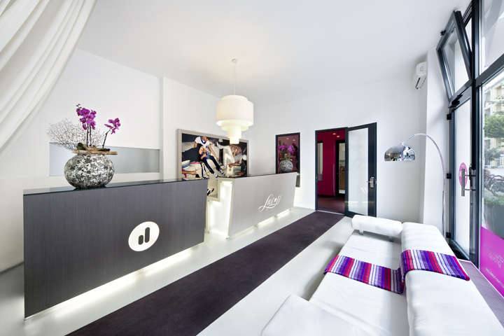 lux 11 design hotel by giuliana salmaso claudio silvestrin berlin retail design blog. Black Bedroom Furniture Sets. Home Design Ideas