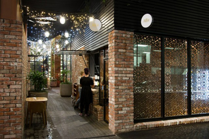 Milse restaurant by cheshire architects auckland new