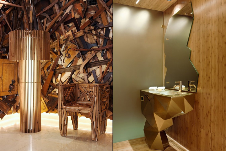 New hotel by the campana brothers athens greece for Design hotel greece