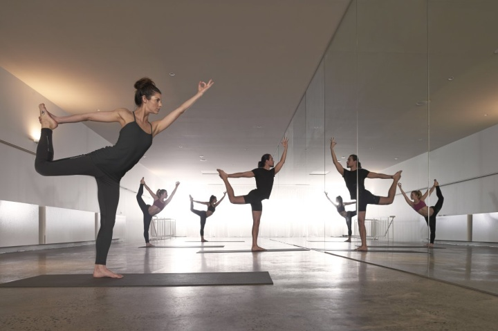 » One Hot Yoga studio by Rob Mills, Melbourne