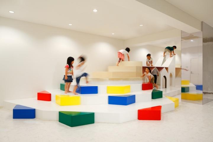 Modern Classroom Pdf : Pixy hall kindergarten by moriyuki ochiai architects