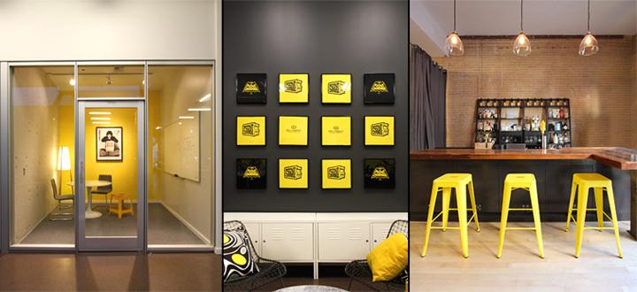 Graphic Design Office Interior