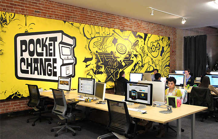 Pocket Change S Office By Blitz San Francisco