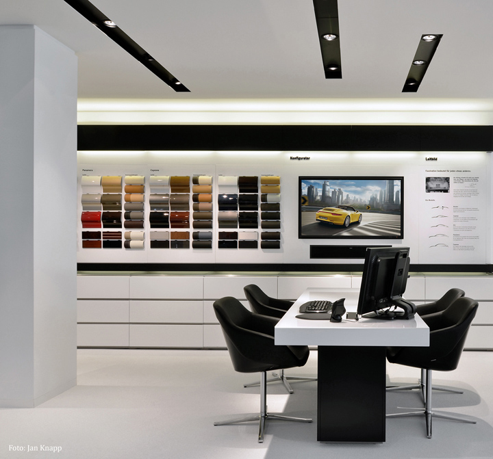 187 Porsche Showroom By The Store Designers 174
