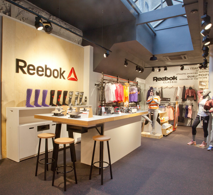 Shop Stores: » Reebok Store In Covent Garden By Brown Studio, London