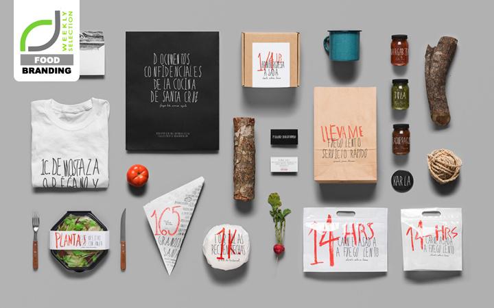 Food branding santa cruz bbq restaurant identity by