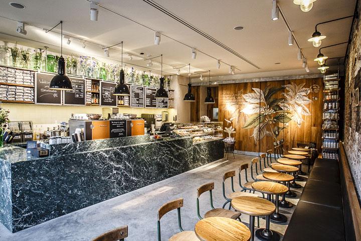 Starbucks flower market by starbucks design team for Design amsterdam