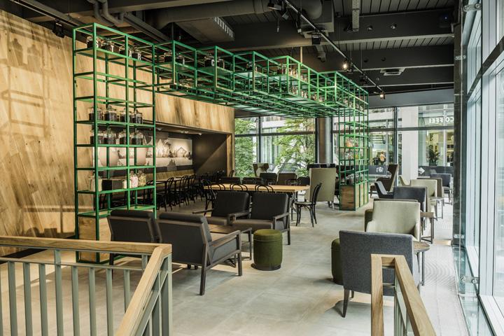 Starbucks store at Sony Center – Potsdammer Platz, Berlin ...
