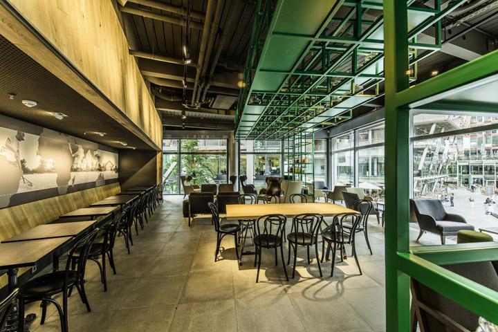 Starbucks store at sony center potsdammer platz berlin for Design shop berlin
