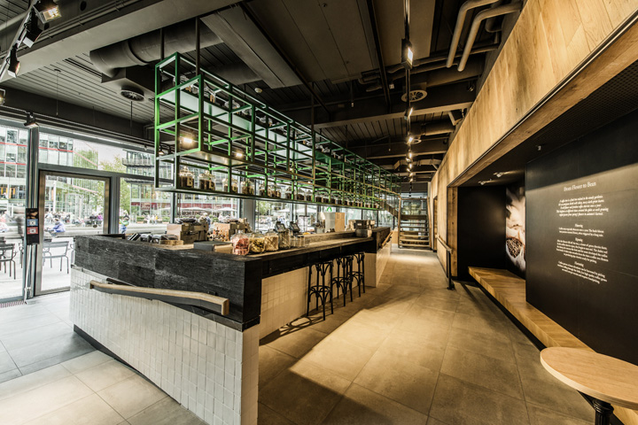 starbucks store at sony center potsdammer platz berlin retail design blog. Black Bedroom Furniture Sets. Home Design Ideas