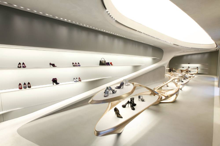 Zaha Hadid Retail Design Blog