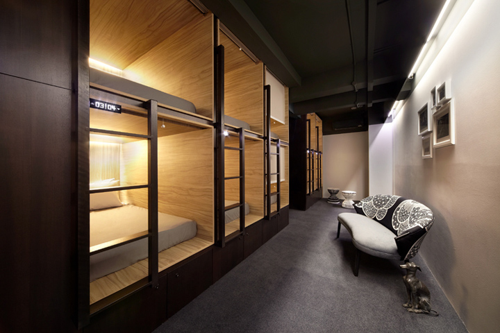 The pod hotel singapore retail design blog for M design hotel