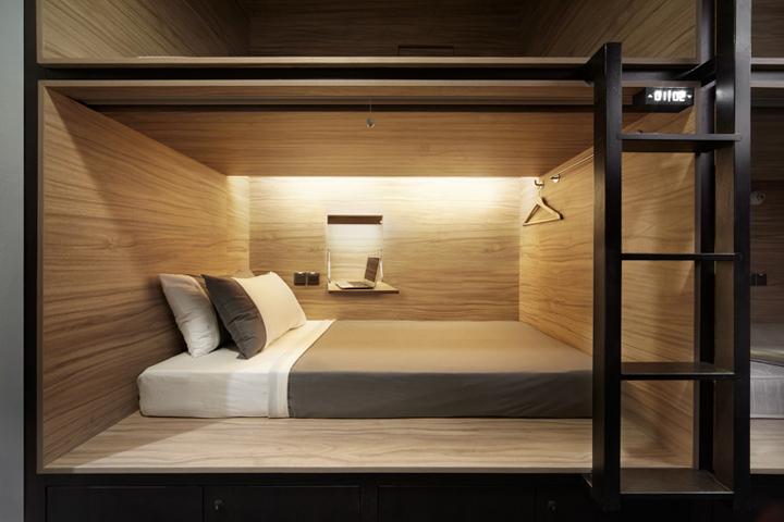 The pod hotel singapore retail design blog for Hotel francs tokyo