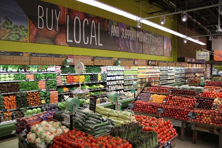 whole food store: