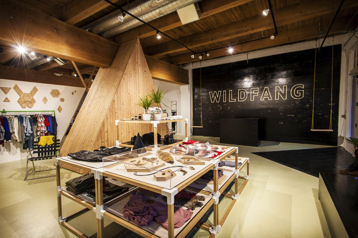 wildfang flagship store portland oregon retail design blog. Black Bedroom Furniture Sets. Home Design Ideas