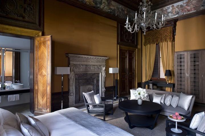 Aman canale grande hotel venice italy retail design blog for Design hotel venice