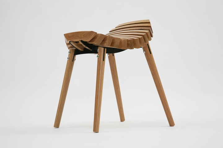 187 Ane Timber Stool By T Bac Design