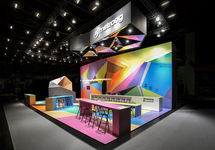 Expo Exhibition Stands Group : Armstrong trade fair stand by ippolito fleitz group