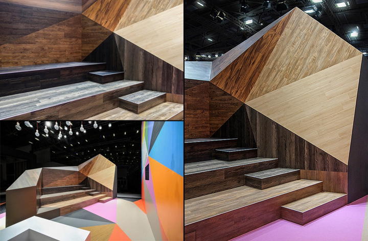 Armstrong Trade Fair Stand By Ippolito Fleitz Group