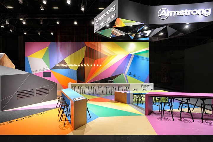 Exhibition Stand Design In Germany : Armstrong trade fair stand by ippolito fleitz group