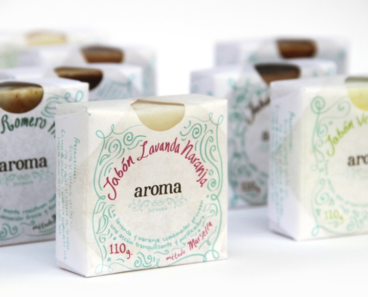 187 Aroma Soap Packaging By Claudio Limon