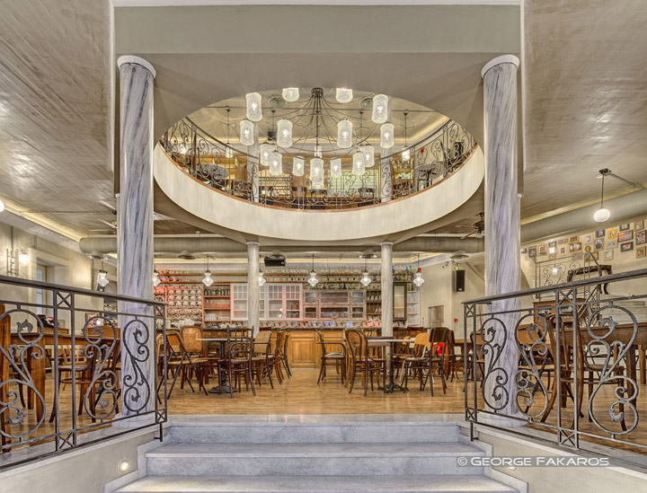 Belle Amie restaurant & cafe bar by Zisis Papamichos, Athens ...