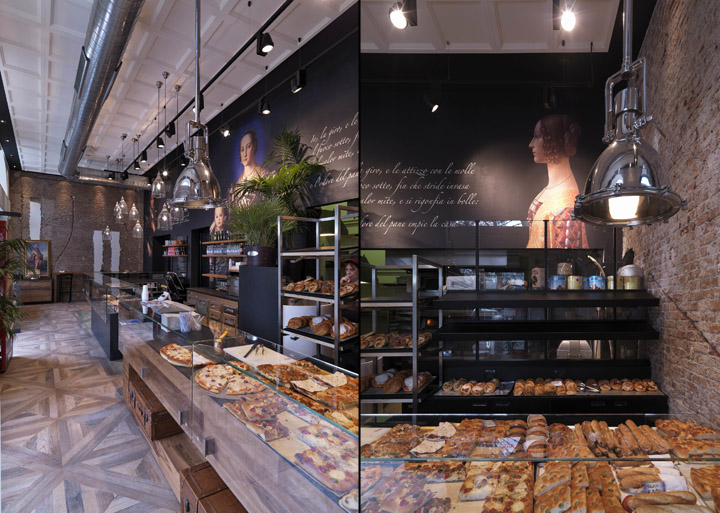 187 Binary 11 Bakery Caf 232 By Andrea Langhi Design Milan Italy