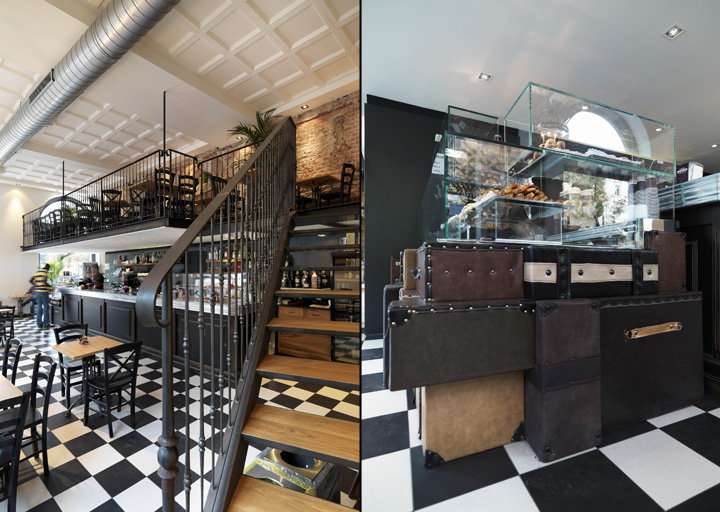 Binary 11 bakery caf by andrea langhi design milan italy for Gil arredamenti