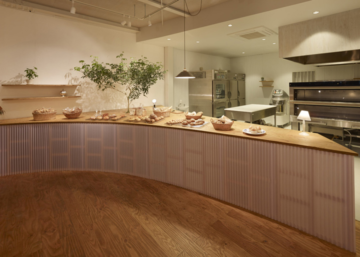 Bread Table bakery by Airhouse Design Office Gifu Japan 02 Bread Table bakery by Airhous