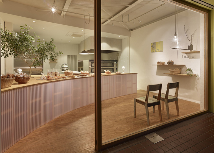 Bread Table bakery by Airhouse Design Office Gifu Japan 04 Bread Table bakery by Airhouse Design Office, Gifu   Japan