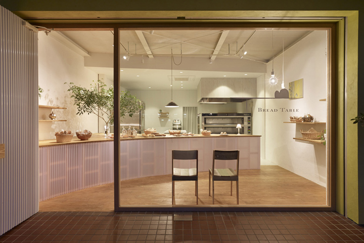 Bread Table bakery by Airhouse Design Office Gifu Japan Bread Table bakery by Airhouse Design Office, Gifu   Japan