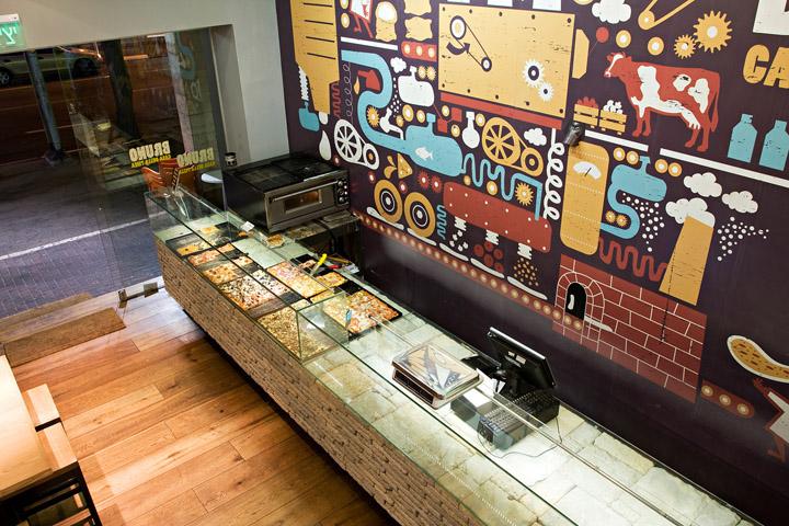 pizza retail design blog. Black Bedroom Furniture Sets. Home Design Ideas