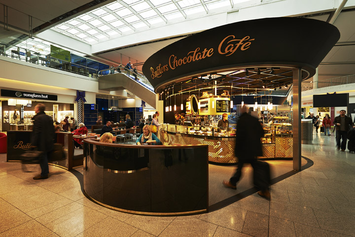 187 Butlers Chocolate Cafes By 21 Spaces Dublin Ireland