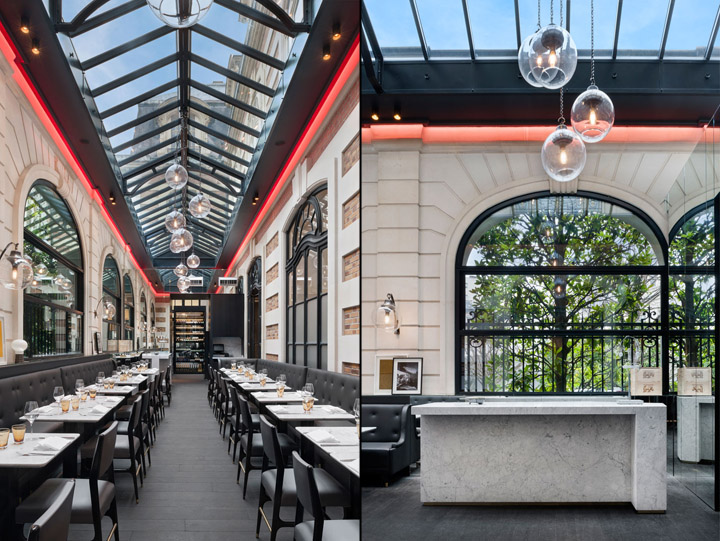 Cafe Artcurial by Charles Zana Paris France 05 Café Artcurial by Charles Zana, Paris   France