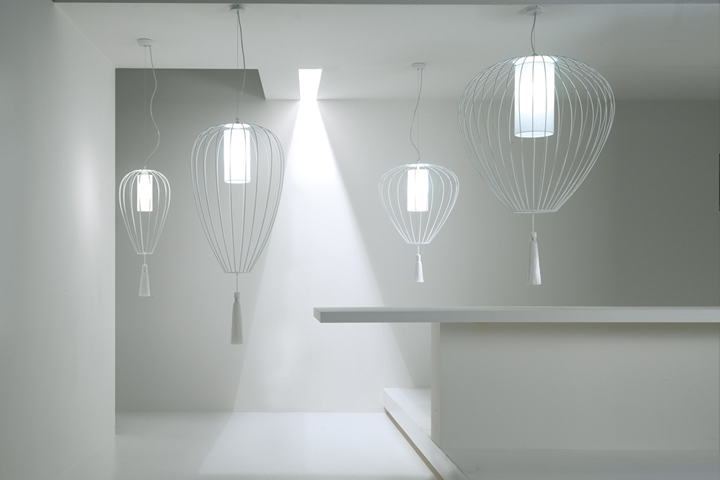 » Cell lamp collection by Matteo Ugolini for Karman