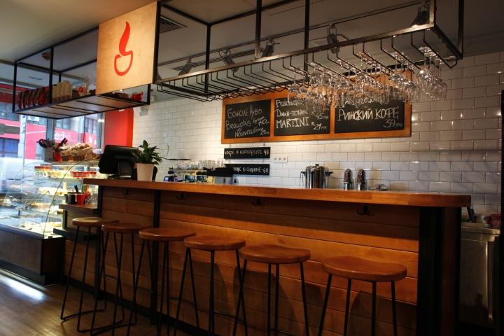 Chashka espresso bar by soboleva storozhuk kyiv ukraine - Interior leather bar free online ...