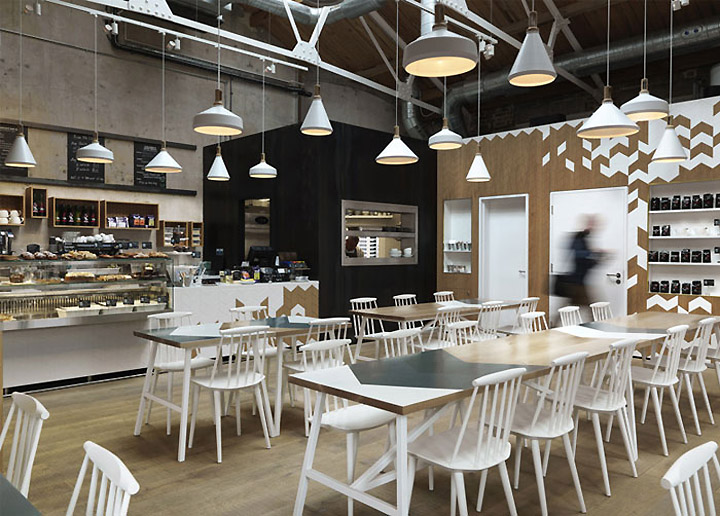 Cornerstone Cafe By Paul Crofts Studio London UK