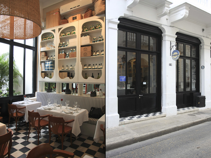 Don juan restaurant by pinto design group cartagena