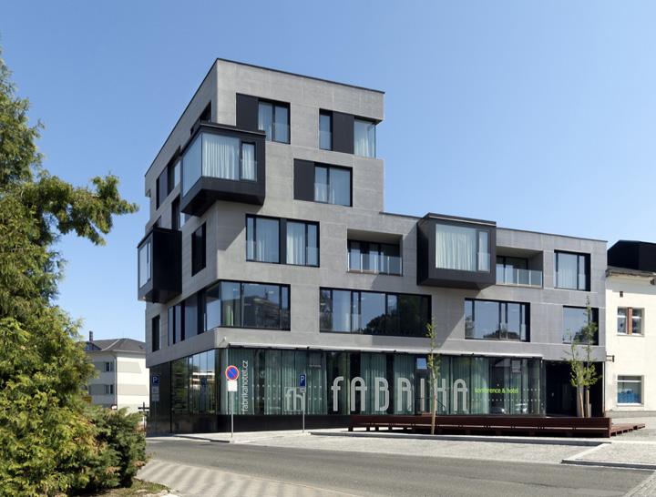 Fabrika hotel by ok plan architects humpolec czech for 5 star modern hotels