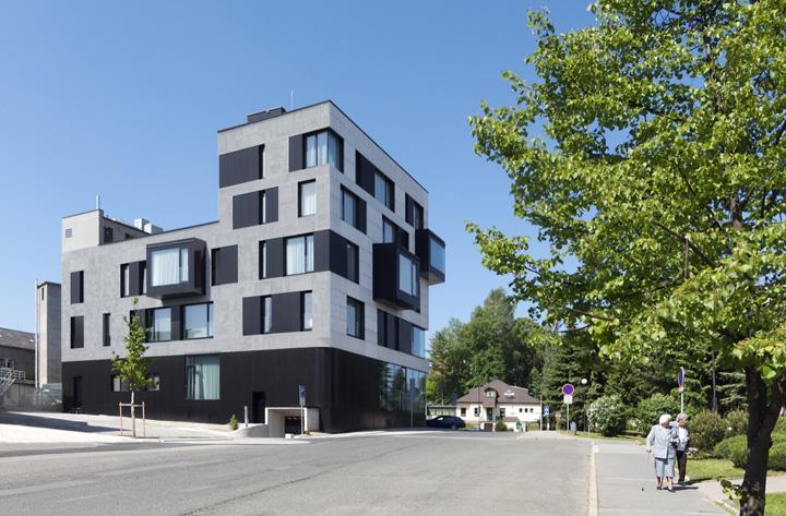 187 Fabrika Hotel By Ok Plan Architects Humpolec Czech
