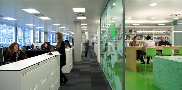 HOK office London UK 02 HOKs office, London   UK