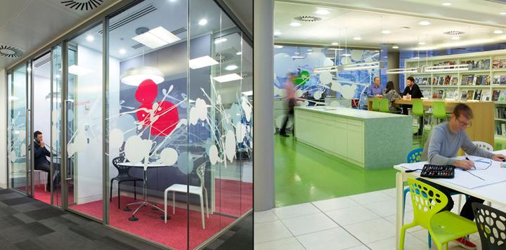 HOK office London UK 03 HOKs office, London   UK