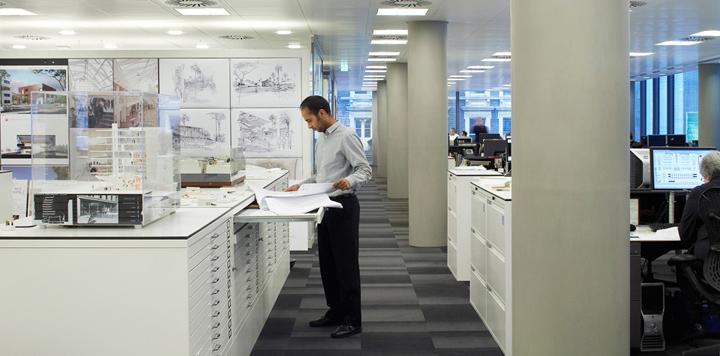 HOK office London UK 04 HOKs office, London   UK