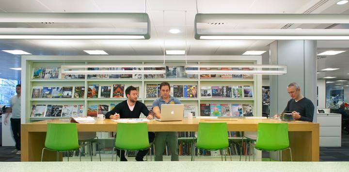 HOK office London UK 05 HOKs office, London   UK
