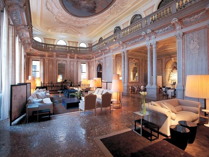 Hotel monaco grand canal venice italy retail design for Hotel monaco decor