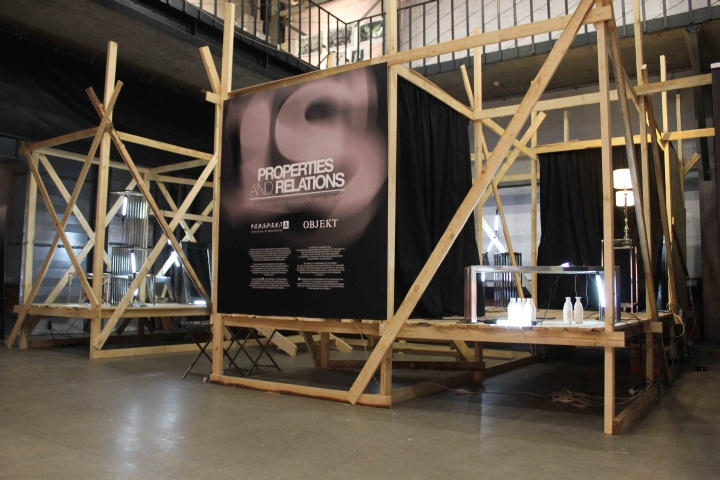 Exhibition Booth Installation : Is installation at moscow design week by alan