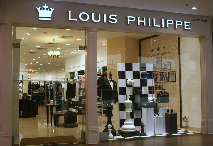 187 Louis Philippe Window Display October 2013 Bangalore