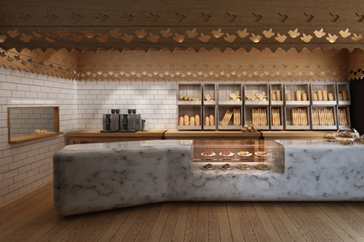 Bakeries Maxibread Bakery And Cafe By Stone Designs 2 on small restaurant interior design ideas