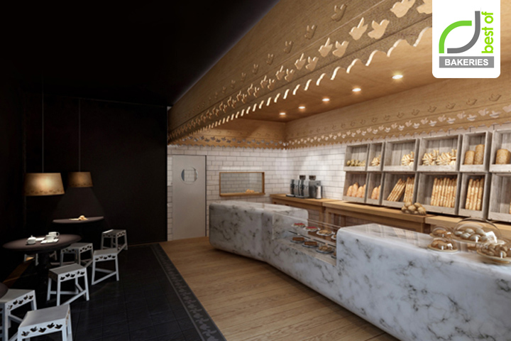 BAKERIES Maxibread Bakery And Caf By Stone Designs Retail Design Blog