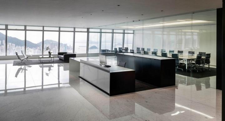 Natixis office by M Moser Associates Hong Kong  Retail Design Blog